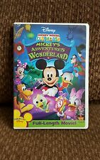 Dvd Walt Disney Mickey Mouse Clubhouse Mickey's Adventures in Wonderland