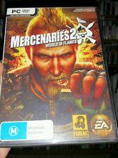 Mercenaries 2 - World in Flames PC GAME - FREE POST