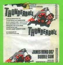 SOMPORTEX  THUNDERBALL  GUM WRAPPER 1965 JAMES BOND 007
