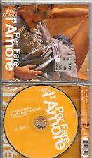 IRENE GRANDI CD SINGLE sigillato VASCO ROSSI  PER FARE L'AMORE + DUB VOCAL REMIX