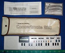 Realistic Concertmate 200 (Casio VL-1)  Vintage Analog Synthesizer & Calculator
