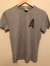 A&F Abercrombie & Fitch Men's Grey Gray T-Shirt Tee Small S