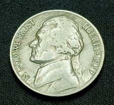 1939 S Jefferson Nickel, Rare, Mintage of 6.6 MIL, Nice Coin, Free Ship