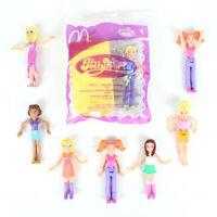 Vintage Polly Pocket McDonald's Pollyworld Toys Lot 8 Dolls Digital Camera Toy