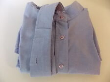 SHORT STIRRUP COLLECTION PALE HORSE SHOW SHIRT GIRLS US 14 2 COLLARS LONG SLEEVE