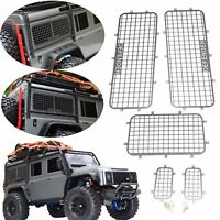 For 1/10 TRAXXAS TRX4 82056-4 RC Car Metal Window Defender Guard Protective 5pcs