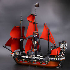Queen Anne's revenge Pirates of the Caribbean Building bricks toys Children gift