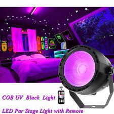 COB LED Schwarzlicht UV Strahler Par Licht DMX Bühnenlicht Halloween Par Light