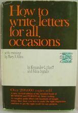 B0006AX3KS How To Write Letters For All Occasions