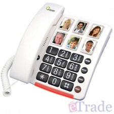 Oricom CARE80 Picture Dial Amplified Phone Extra Loud Ringer