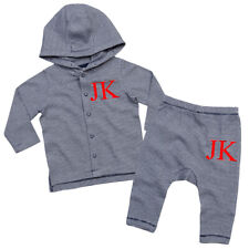 Personalised Baby Tracksuit Toddler Stripe Lounge Wear Personalised Gifts TR2