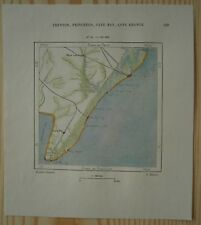 1892 Perron map CAPE MAY, ATLANTIC CITY, NEW JERSEY (#50)