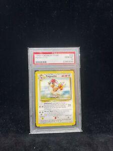 Pokemon Base Set Pidgeotto 22/102 - 1999-2000 Print - Graded Card PSA 10