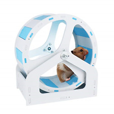 Hamiledyi Silent Hamster Exercise Wheel, Cage Activity Accessories Toy for Mice