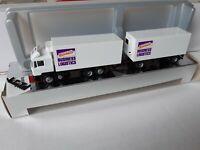 MAN F90  Federal Express /  FedEx  Business Logistics  Kühlkoffer Hängerzug