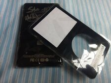 Black Faceplate Housing U2 Metal Back Case Cover for iPod 5th Video 60Gb 80Gb