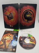 Rare jeu Xbox 360 Mortal Kombat Steelbook avec Notice