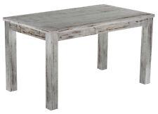 Geschenk Esstisch Holz Pinie massiv Tisch 140x80cm in shabby / Eiche antik Küche