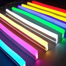 12v Led Neon Strip Light Sign Rope Flexible Tape SoftBar Silicon Tube Waterproof