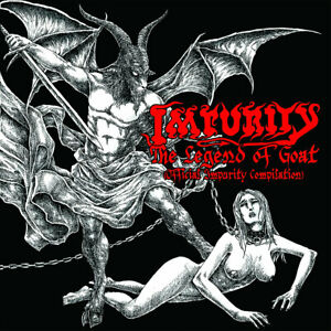 Impurity ‎– The Legend Of Goat (CD)