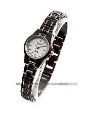 Omax Ladies White Dial Watch, 2-Tone Finish, Seiko (Japan) Movt. RRP £49.99