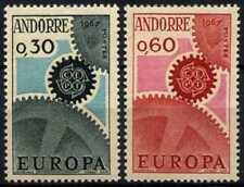 Andorra French 1967 SG#F199-F200 Europa MNH Set #D71797