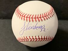 Jose Contreras Yankees White Sox Autographed Signed Official MLB Baseball 1