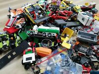 LEGO - 1KG VEHICLE THEMED CREATIVITY PACK(S) - CAR TRUCK BUS TRAILER ETC: