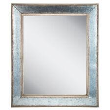 Rustic Country Galvanized Metal & Barnwood Wall Mirror Farmhouse Shabby Chic