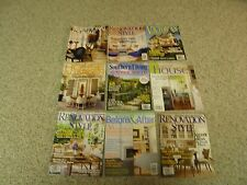 9 Home & Decorating Magazines from 2004-2006 & 2013 - Renovation Style & Others
