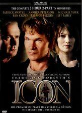 USE DVD - ICON - HALLMARK MINI-SERIES - Patrick Swayze, FREDERICK FORSYTH