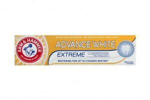 ARM & HAMMER ADVANCE WHITE Toothpaste WITH BAKING SODA 75 ml
