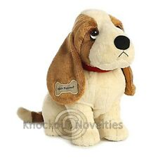 "Hush Puppies Classic Basset Hound 10"" Stuffed Animal Play Fun Toy"