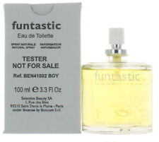 funtastic by United Colors of Benetton for Boys EDT Cologne Spray 3.3 oz.-T NEW