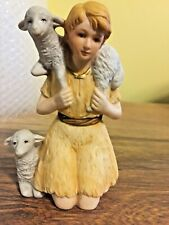 Vintage Homco #5599 Shepard Boy With Sheep Figurine Replacement Nativity Piece
