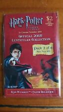 Harry Potter & The Goblet of Fire Lenticular Trading Card 2005 Pack 2 of 6 NWT