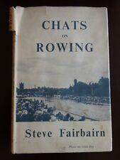 CHATS ON ROWING : STEVE FAIRBAIRN