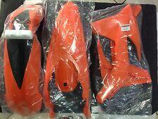 KIT PLASTICHE KTM EXC 2T 125 250 300 2012 2013 12 13 KIT 3 PZ COLORE ARANCIO