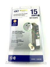 Square D QO115CAFIC QO Combination Arc Fault Circuit Breaker 15A New