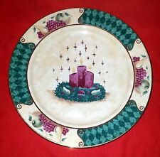 "Trees n Trends Unique Decor & More Christmas Dishes - Dinner Plate - 10 1/2"" Dia"