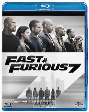 FAST AND FURIOUS 7 (BLU-RAY) VERSIONE ESTESA con Vin Diesel, Paul Walker