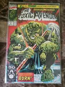 Rare 1st Issue The Toxic Avenger Vol. 1 No. 1 April 1991 Marvel Comics 50 Years