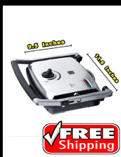 Electric Panini Gourmet Easy Cook Press Grill 1500w ! Sandwich Maker Kitchen