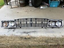 1965 65 MOPAR CHRYSLER 300 GRILLE ASSEMBLY WITH FRAME AND HEADLIGHT BUCKETS L@@K