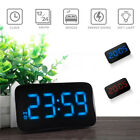New Digital Battery Alarm Clock Desk WITH LED Display Backlight Calendar Snooze