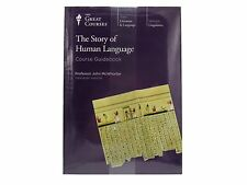 The Great Courses The Story Of Human Language DVD Book Set 2004