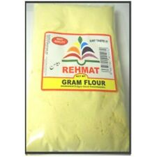 Ground Gram Flour / Besan (Rehmat Brand) 500g, 1Kg, 2Kgs (Free in UK Post)