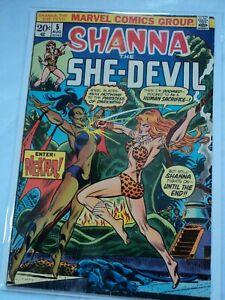 Shanna The She-Devil #5  Marvel  1973