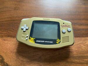 ! Nintendo Gameboy Advance - Gold Pokemon Edition - Funktioniert einwandfrei !