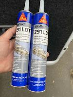 {2}Sika Sikaflex 291 Lot Slow Cure Marine Adhesive/Sealant White 10.3 Oz. 300 ml